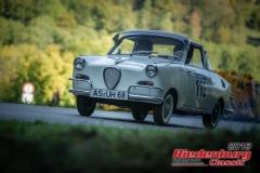 Goggo CoupeBJ:  1963, 250 ccmLucia Butschek,  RegensburgStartnummer:  110
