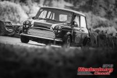 Austin Mini BJ:  1964, 1300 ccm Horst Mlejnek,  Altendiez Startnummer:  111
