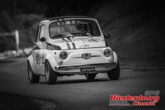 Fiat 500 AbarthBJ:  1970, 500 ccmAldo Cota,  ManchingStartnummer:  121