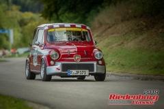 Fiat Abarth tcBJ:  1971, 1000 ccmRichard Wagner,  RegensburgStartnummer:  123