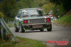 Fiat 128 CoupeBJ:  1973, 1300 ccmMario Lang,  BernauStartnummer:  129