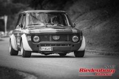 Fiat 129 Giannini NPSBJ:  1971, 1300 ccmMassimo Togni,  GrainauStartnummer:  125