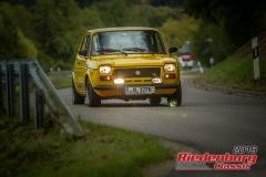 Fiat 127BJ:  1974, 989 ccmReiner Bornschlegel,  RegensburgStartnummer:  130