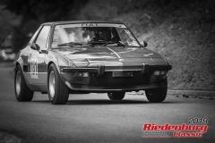 Fiat X 1/9 BJ:  1976, 1300 ccm Hans Hölzlberger,  Aidenbach Startnummer:  131