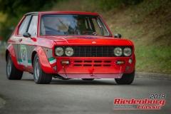 Fiat 128 BJ:  1978, 1300 ccm Manfred Ammon,  Happurg Startnummer:  137