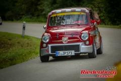 Fiat Abarth tc BJ:  1971, 1000 ccm Richard Wagner,  Regensburg Startnummer:  123