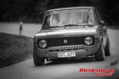 Fiat 128 Limousine BJ:  1970, 1250 ccm Jürgen Becker,  Bayreuth Startnummer:  122