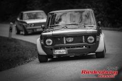 Fiat 129 Giannini NPS BJ:  1971, 1300 ccm Massimo Togni,  Grainau Startnummer:  125