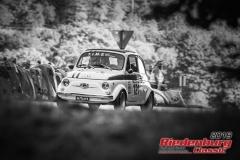 Fiat 500 Abarth BJ:  1970, 500 ccm Aldo Cota,  Manching Startnummer:  121