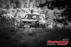 Fiat 127 BJ:  1974, 989 ccm Reiner Bornschlegel,  Regensburg Startnummer:  130