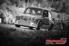 Fiat 850 tc Abarth BJ:  1978, 850 ccm Gerhard Polster,  Arzberg Startnummer:  135
