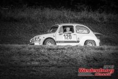 Fiat Abarth tc BJ:  1967, 1036 ccm Walter Schneider,  Waltenhofen Startnummer:  120