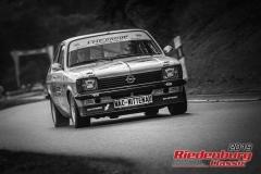 Opel C-KadettBJ:  1978, 2000 ccmGustav Abele,  NittenauStartnummer:  153