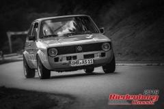 VW Golf GTi PirelliBJ:  1983, 1760 ccmAlexander Schenk, ÖhringenStartnummer:  157