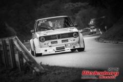 VW Golf 1BJ:  1980, 1800 ccmBruno Mendl, HemauStartnummer:  155