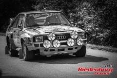 Audi Sport quattro Rallye RS 01 BJ:  1984, 2110 ccm Audi Tradition, Thomas Bauch, Ingolstadt Startnummer:  160