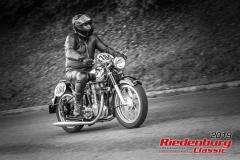 Horex ReginaBJ:  1954, 400 ccmWolfgang Roth, BabenhausenStartnummer:  184