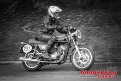 Moto MoriniBJ:  1978, 350 ccmHans-Georg Henle, SchwaigernStartnummer:  207