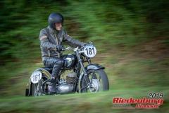 DKW RT 250/2 BJ:  1954, 250 ccm Erik Thees, Ingolstadt Startnummer:  181