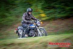 Yamaha RD BJ:  1976, 250 ccm William Penn, Altmannstein Startnummer:  206