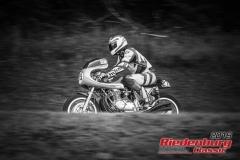 Honda CB BJ:  1971, 750 ccm Georg Dinzl, Reitmehring Startnummer:  215