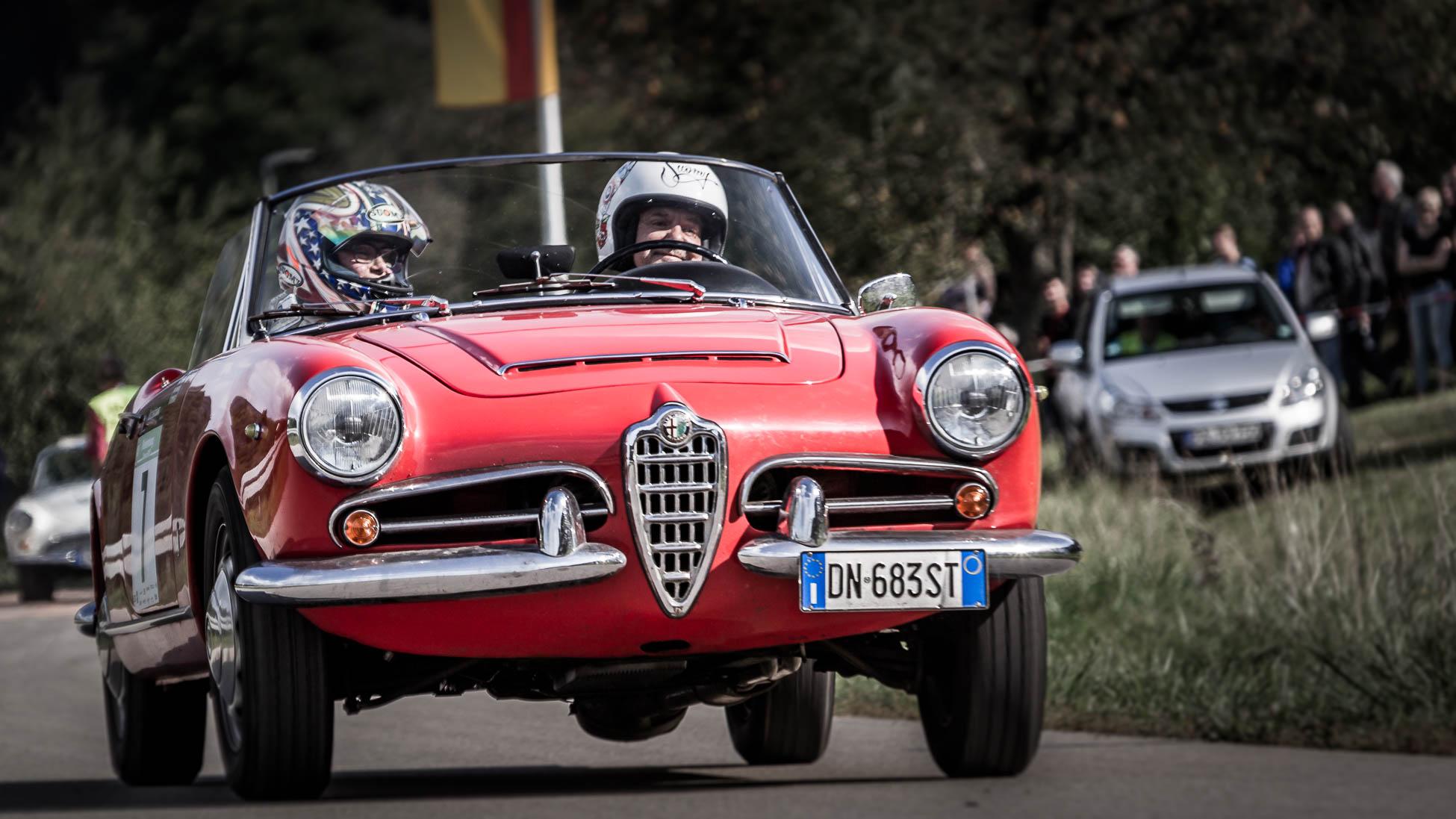 Aldo Cota, Alfa Spider Riedenburg Classic 2018