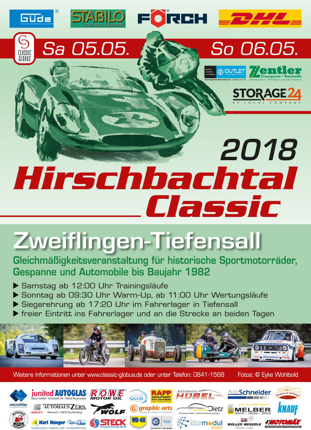 Plakat Hirschbachtal Classic 2018