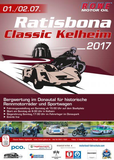 Plakat Ratisbona Classic Kelheim 2017