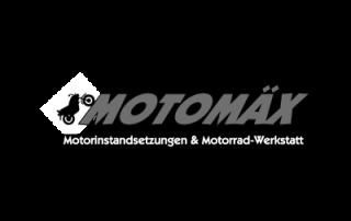 Logo Motomäx Motorrad Instandhaltung & Motorrad Werkstatt