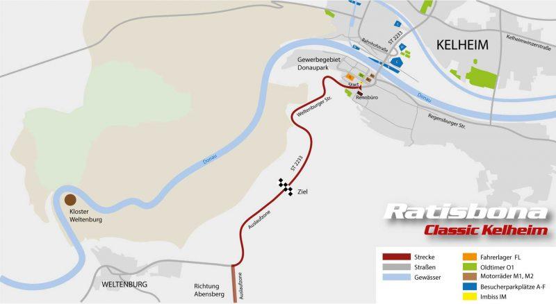 Ratisbona-Classic Kelheim Strecke