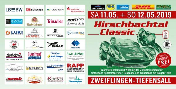 Flyer Hirschbachtal Classic 2019 aussen