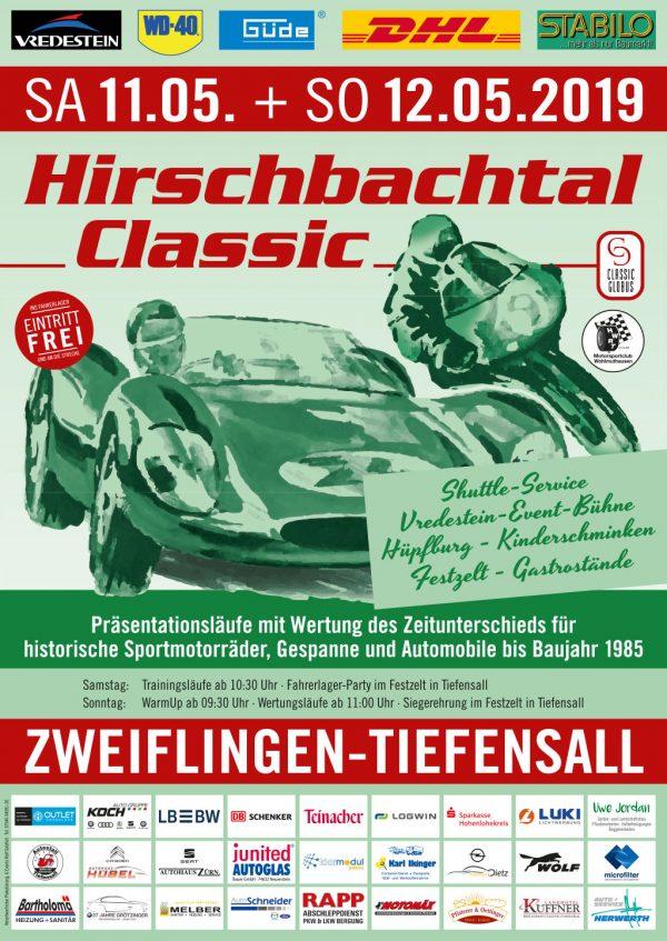 Plakat Hirschbachtal Classic 2019