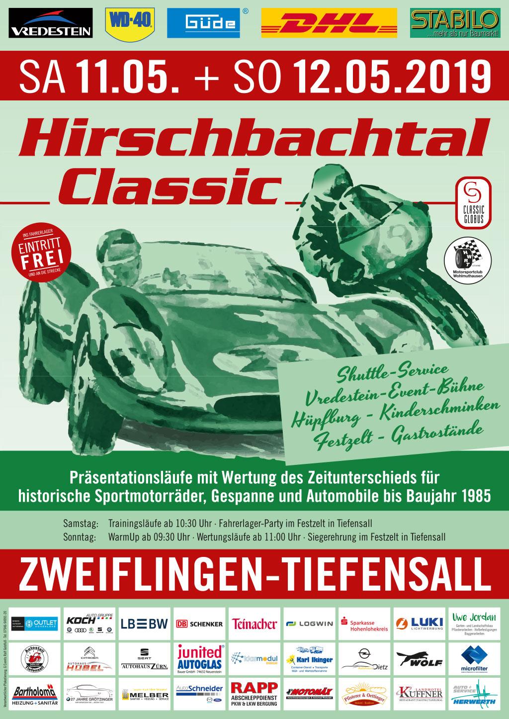 Zur Hirschbachtal Classic 2019