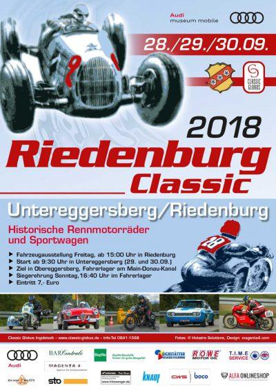 Plakat Riedenburg Classic 2018